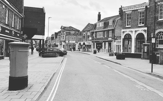 Empty Haverhill High Street