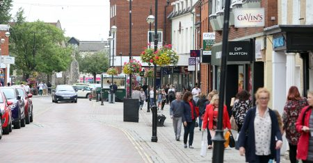 Haverhill town centre