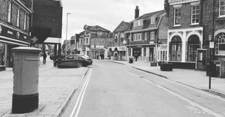 Empty Haverhill High Street