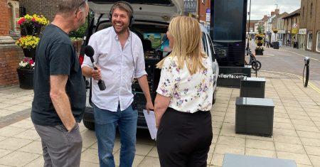 Julie Clark on Radio Suffolk