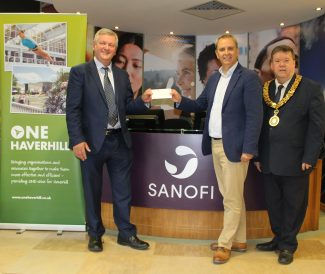 Sanofi donation to ONE Haverhill Partnership